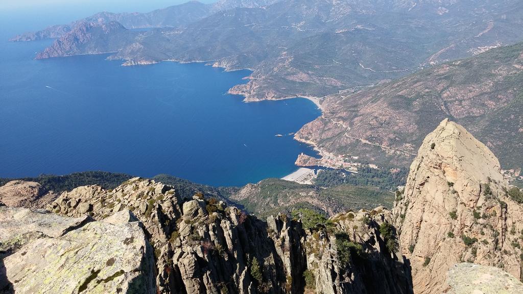 Blick vom Capu d'Ortu