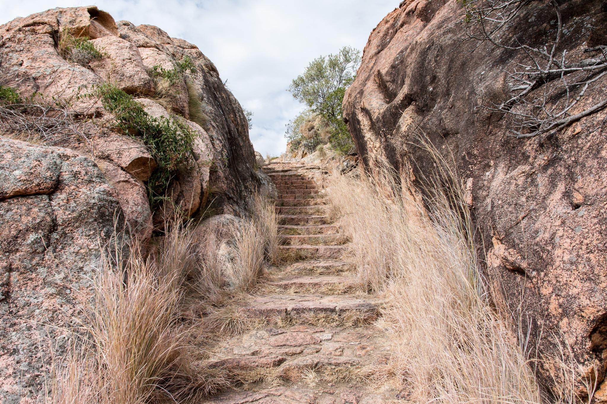 Treppe zum Genueserturm